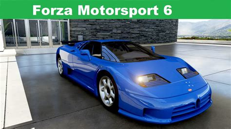 These are the kinds of characteristics you'd want from a super sports car. Forza Motorsport 6 - 1992 Bugatti EB110 Super Sport - YouTube