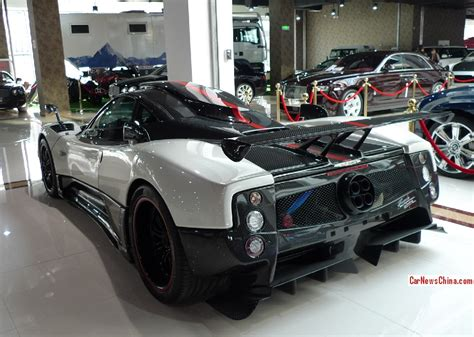 super car china super spot pagani zonda cinque