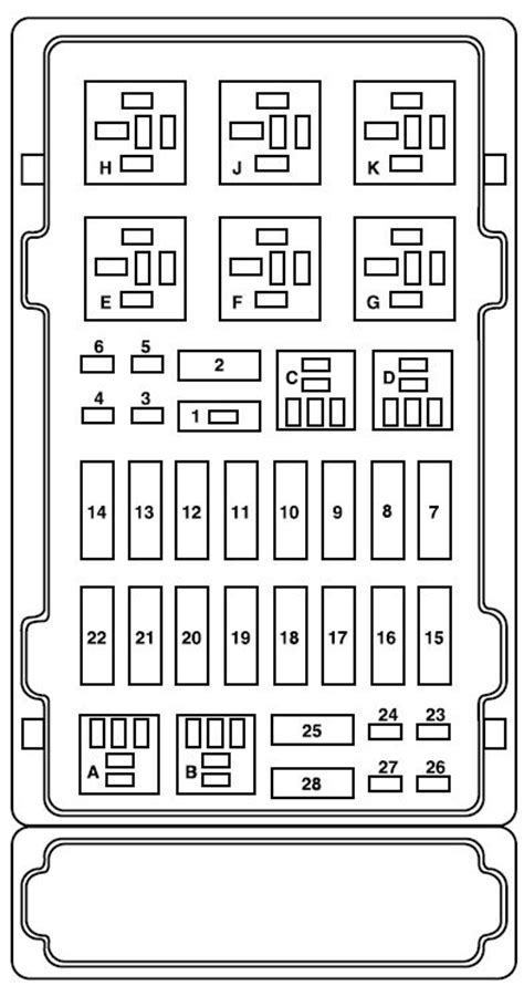 89 Ford E 250 Fuse Diagram by Ford E Series E 150 2008 Fuse Box Diagram Auto Genius