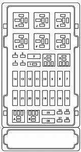 1997 Ford E150 Fuse Box Layout