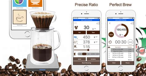 The basic drip coffee ratio is 6g/100ml or 1:15 (1g of coffee to 15g of. Perfect Scale for Drip Coffee making - Smart Food Scale
