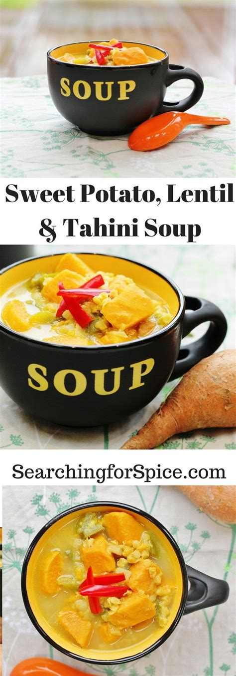 What are the side effects you should expect? Sweet Potato, Lentil and Tahini Soup | Easy soup recipes, Healthy soup recipes, Food recipes