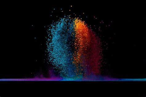 sound visualization dancing colors  fabian oefner