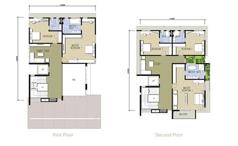 bungalow floorplans kinrara residence asteria product