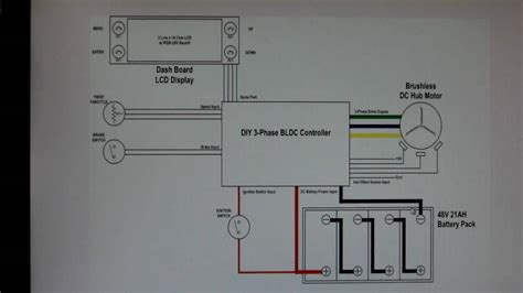 Home Made Bldc Hub Motor Controller Project Wiring