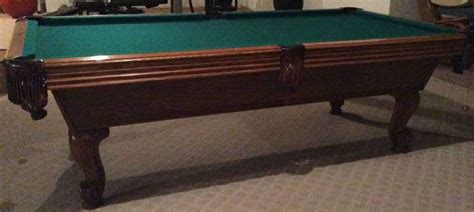 slate pool tables for sale 1987 8 ft olhausen slate pool table for sale in hawthorne il
