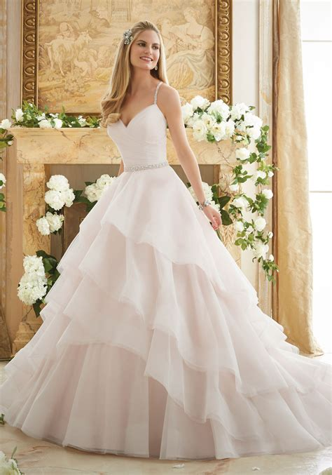 morilee wedding dress elaborately beaded gown wedding dress style