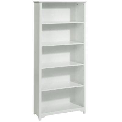Open Bookcase White by Home Decorators Collection Oxford 24 In W 5 Shelf Open