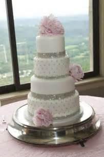 wedding cakes wedding cakes pink bling wedding cake 2063308 weddbook