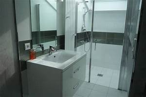 Douchette Salle De Bain : salle de bain design cholet yves cl ment architecte ~ Edinachiropracticcenter.com Idées de Décoration