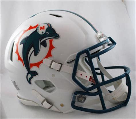 miami dolphins mini speed helmet  riddell