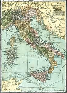 1920 Italy Map