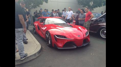 cars  coffee irvine  june  toyota ft toyota