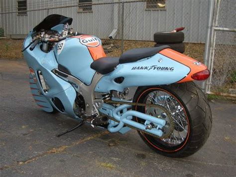gulf racing motorcycle suzuki hayabusa gulf racing by hank young choppers