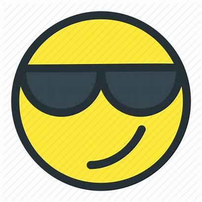 Smiley Sunglasses Cool Face Emoji Emoticons Icon