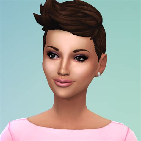 "Sims 4 Celebrities By Selena Celebrity Sim ""halle Berry"