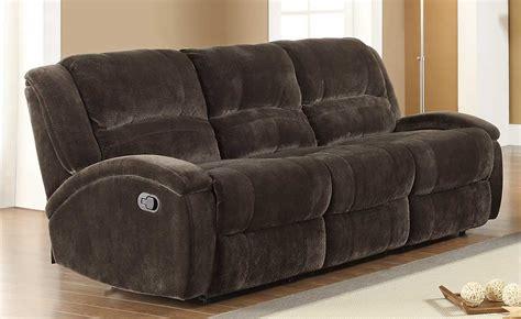 chocolate brown reclining sofa chocolate brown microfiber reclining sofa hereo sofa