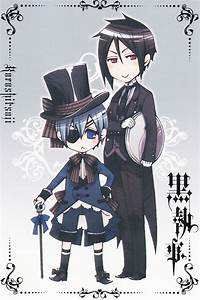 Ciel and Sebastian (from BLACK BUTLER) | Black Butler ...