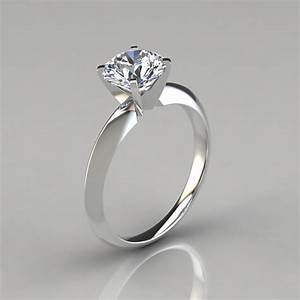 Classic 4 prong tiffany style engagement ring puregemsjewels for Wedding ring descriptions