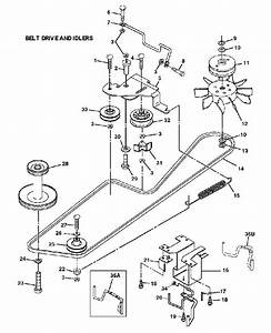 33 John Deere Lt155 Drive Belt Diagram