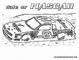Nascar Coloring Printable Race Cars Boys Games Muscle Boy Getdrawings Getcolorings sketch template