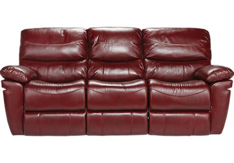 red leather reclining sofa la verona red leather reclining sofa reclining sofas red