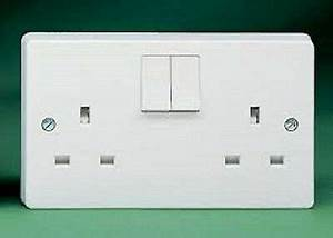 Crabtree 4306D Double Pole Switch Socket 13a 2 Gang | eBay