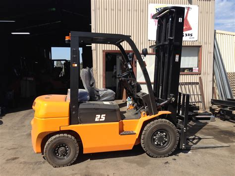 hangcha clear view mast forklift bay forks