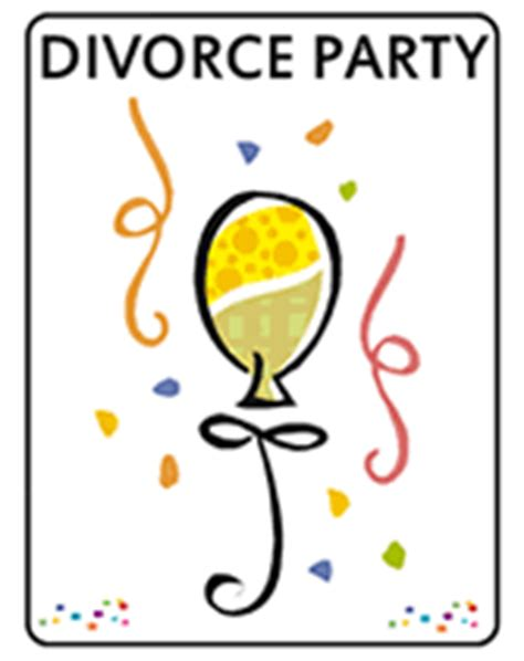printable divorce party invitations