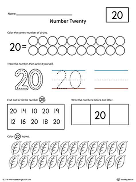 preschool writing numbers printable worksheets myteachingstation