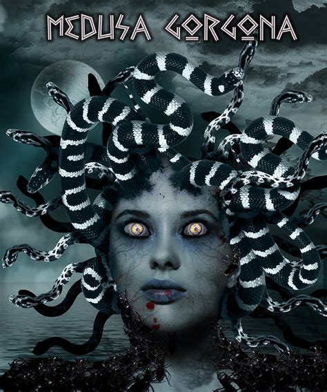 medusa gorgona on Behance