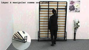 Lit Escamotable Ikea : lit escamotable lit mural classique de wallbedking ~ Melissatoandfro.com Idées de Décoration