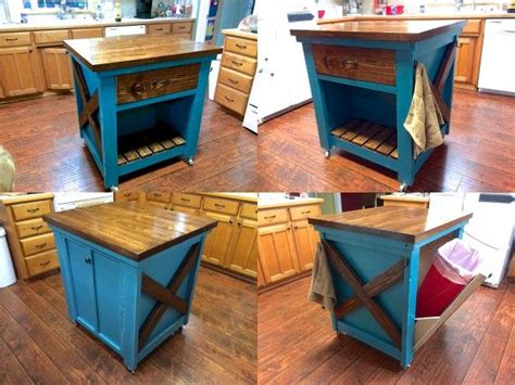 do it yourself kitchen islands kitchen island with trash bin do it yourself home