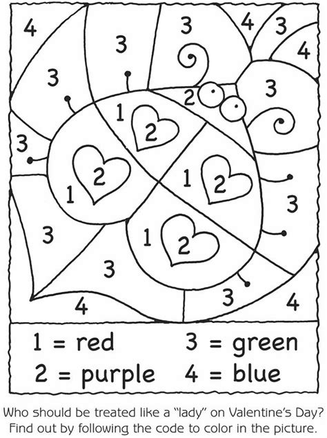 color by number preschool worksheets coloring pages preschool s day 748