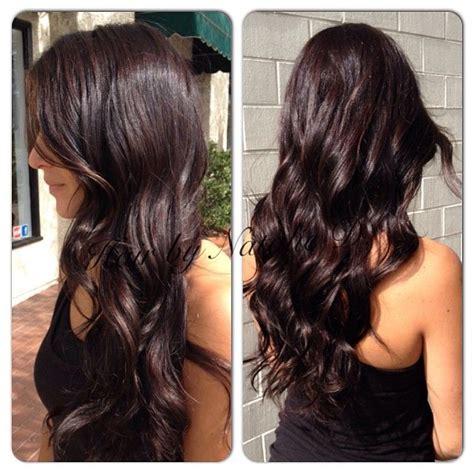 dark mahogany brown hair color ihairstyles website