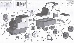 Peg Perego Thomas Track Rider Parts