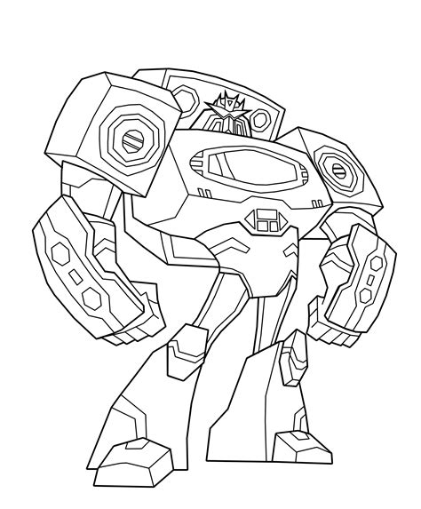 Coloring Transformer by Transformers Coloring Pages 360coloringpages
