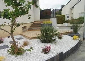 vue d39exterieur paysagiste 20 allee viviane 35510 With photos terrasses et jardins 2 amenagement terrasses jardins de lorangerie