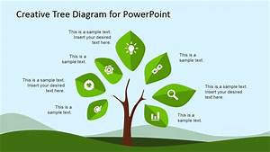 Tree  U0026 Plant Clipart For Powerpoint With Icons