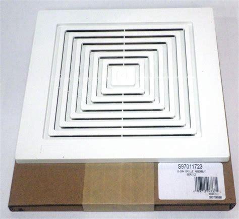 broan bathroom fan cover 97011723 broan bath bathroom ceiling fan grille grill
