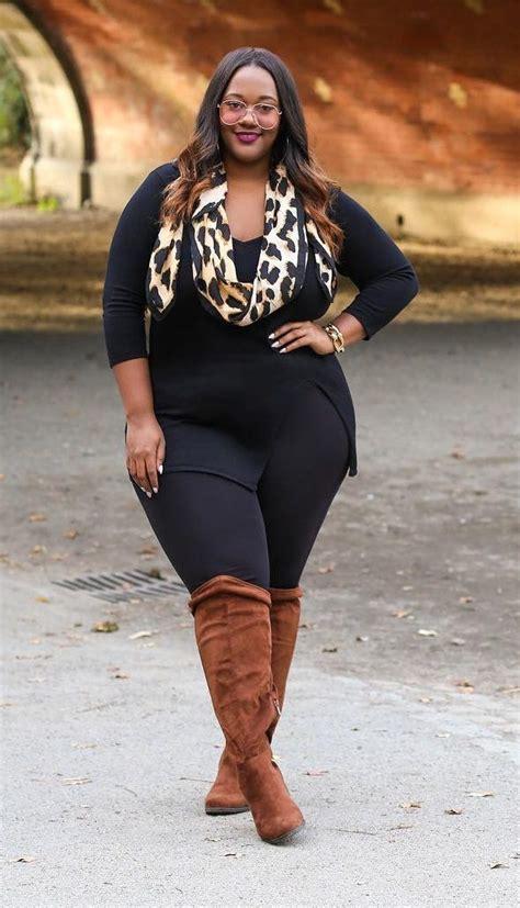 size fashion  women  size fall outfit idea