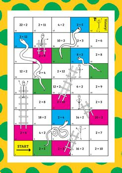 times tables snakes  ladders  engaging education