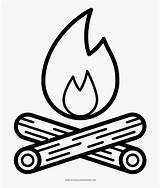 Campfire Coloring Desenho Camp Fogueira Colorir Fire Ultra Fogata Clipart Logs Dibujo Colorear Blanco Negro Ausmalbilder Cartoon Api Unggun Gambar sketch template
