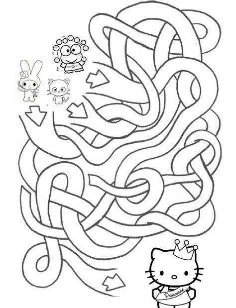 kitty   maze  mad  kitty  keroppi