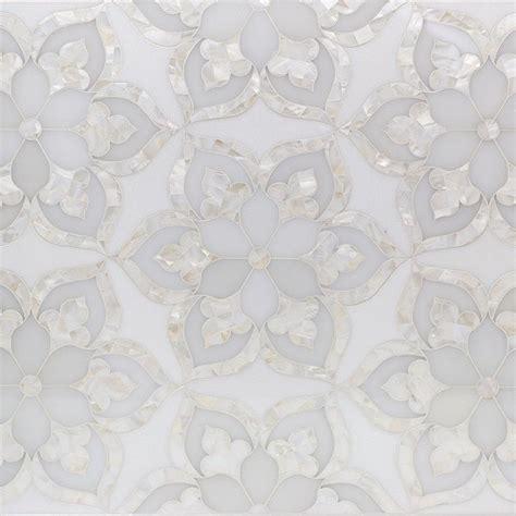 aurora marble pearl glass tile floors marble tiles