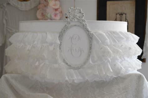 abat jour romantique chambre froufrou dentelle blanche et blanc le grenier d 39