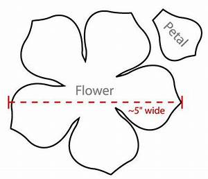 flower petal templates wowcom image results sagome With burlap flower template