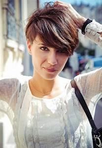 Coupe Courte Avec Meche : coupe courte avec meche cuivre coiffures populaires 2019 ~ Nature-et-papiers.com Idées de Décoration