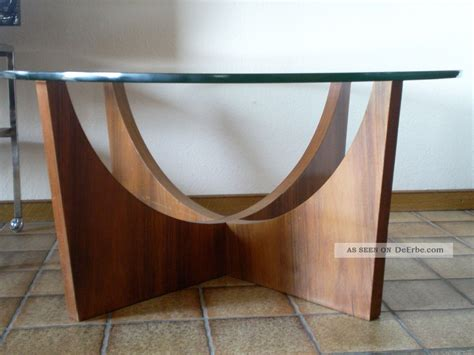 Tisch Holz Rund by Design Tisch 60er 70er Couchtischteak Holz Rund