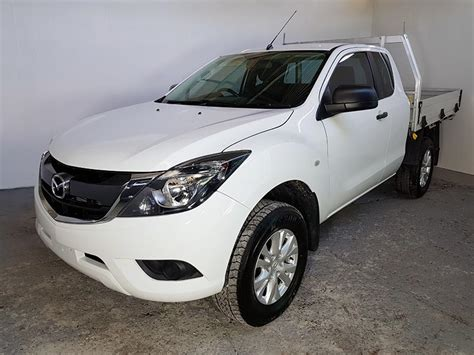 automatic mazda bt  ute  white  vehicle sales